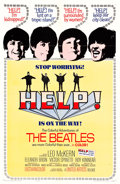 "Movie Posters:Rock and Roll, Help! (United Artists, 1965). One Sheet (27"" X 41""). Rock and Roll.. ..."