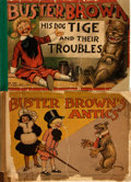 Books:Art & Architecture, [Cartoons, Comics]. R. F. Outcault. Pair of Buster Brown Books. New York: Frederick A. Stokes, 1904 - 1906. . ... (Total: 2 Items)