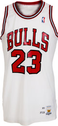 Basketball Collectibles:Uniforms, 1989-90 Michael Jordan Game Worn Chicago Bulls Jersey....