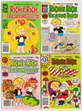 Bronze Age (1970-1979):Cartoon Character, Harvey Digest Comics File Copies Box Lot (Harvey, 1970s-80s) Condition: Average NM-....