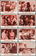 "Movie Posters:Exploitation, Hot Rods to Hell (MGM, 1967). Lobby Card Set of 8 (11"" X 14"").Exploitation.. ... (Total: 8 Items)"