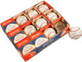 Baseball Collectibles:Balls, Circa 1960 Official National League Baseballs Lot of 12. ...