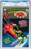 Silver Age (1956-1969):Mystery, House of Mystery #170 (DC, 1967) CGC NM+ 9.6 White pages....