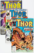Modern Age (1980-Present):Superhero, Thor Box Lot (Marvel, 1987-89) Condition: Average NM.... (Total: 2Box Lots)