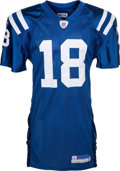 Football Collectibles:Uniforms, 2005 Peyton Manning Game Worn, Signed Indianapolis Colts Jersey. ...