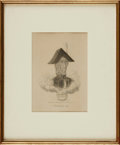 Books:Prints & Leaves, David Claypoole Johnston, artist (1798 - 1865). Framed LithographPrint Entitled, Richard III. [N.p., n.d., circ...