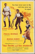 """Movie Posters:Adventure, The Pride and the Passion (United Artists, 1957). One Sheet (27"""" X41""""). Adventure.. ..."""