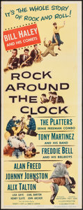 """Movie Posters:Rock and Roll, Rock Around the Clock (Columbia, 1956). Insert (14"""" X 36""""). Rockand Roll.. ..."""