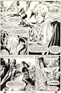 "Original Comic Art:Panel Pages, Neal Adams and Dick Giordano Brave and the Bold #80 ""AndHellgrammite is His Name!"" Page 13 Batman and the Creeper..."