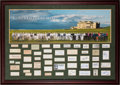 Golf Collectibles:Autographs, 1890's-2000's Golf's Fifty Greatest Signed Display....