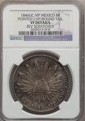 Mexico, Mexico: Republic 8 Reales 1846 GC-MP VF Details (Reverse Scratched)NGC,...