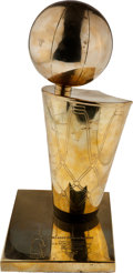 Basketball Collectibles:Others, Late 1990's Chicago Bulls Six NBA Championships Replica Larry O'Brien Trophy....