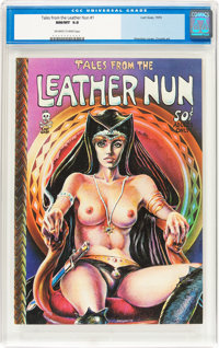 Tales From the Leather Nun #1 (Last Gasp, 1973) CGC NM/MT 9.8 Off-white to white pages