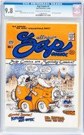 Silver Age (1956-1969):Alternative/Underground, Zap Comix #1 Second Printing - Don Donahue Edition (Apex Novelties,1968) CGC NM/MT 9.8 Cream to off-white pages....