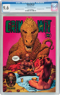 Grim Wit #2 Haight-Ashbury pedigree (Last Gasp, 1973) CGC NM+ 9.6 Off-white to white pages