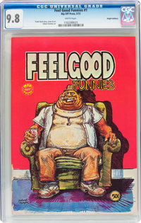 Feel Good Funnies #nn (#1) Haight-Ashbury pedigree (Rip Off Press, 1972) CGC NM/MT 9.8 White pages