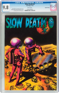 Slow Death #4 Haight-Ashbury pedigree (Last Gasp, 1972) CGC NM/MT 9.8 White pages