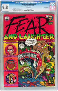 Fear and Laughter #1 Haight-Ashbury pedigree (Kitchen Sink, 1977) CGC NM/MT 9.8 White pages