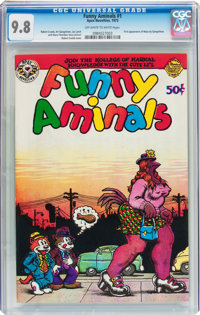 Funny Aminals #1 (Apex Novelties, 1972) CGC NM/MT 9.8 Off-white to white pages