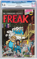 Bronze Age (1970-1979):Alternative/Underground, The Fabulous Furry Freak Brothers #1 (Rip Off Press, 1971) CGC NM+ 9.6 White pages....