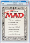Magazines:Mad, MAD #24 Don/Maggie Thompson Collection pedigree (EC, 1955) CGC NM+ 9.6 Cream to off-white pages....