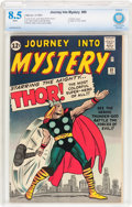 Silver Age (1956-1969):Superhero, Journey Into Mystery #89 (Marvel, 1963) CBCS VF+ 8.5 White pages....
