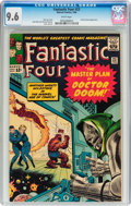 Silver Age (1956-1969):Superhero, Fantastic Four #23 (Marvel, 1964) CGC NM+ 9.6 White pages....