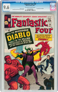 Silver Age (1956-1969):Superhero, Fantastic Four #30 (Marvel, 1964) CGC NM+ 9.6 Off-white to whitepages....