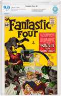 Silver Age (1956-1969):Superhero, Fantastic Four #2 (Marvel, 1962) CBCS VF/NM 9.0 White pages....