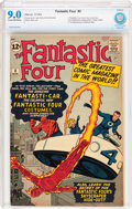 Silver Age (1956-1969):Superhero, Fantastic Four #3 (Marvel, 1962) CBCS VF/NM 9.0 Cream to off-white pages....