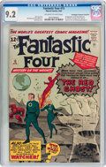 Silver Age (1956-1969):Superhero, Fantastic Four #13 Don/Maggie Thompson Collection pedigree (Marvel,1963) CGC NM- 9.2 Off-white to white pages....