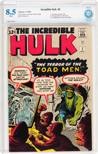 The Incredible Hulk #2 (Marvel, 1962) CBCS VF+ 8.5 White pages