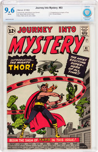 Journey Into Mystery #83 (Marvel, 1962) CBCS NM+ 9.6 White pages