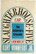 Books:First Editions, Kurt Vonnegut, Jr.: Slaughterhouse-Five; or TheChildren's Crusade: A Duty-Dance with Death (New York:Delacorte Pre... (Total: 1 Item)