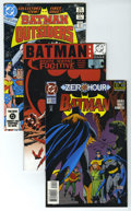 Modern Age (1980-Present):Superhero, Batman Group (DC, 1983-2003) Condition: Average NM. Full shortcomics box contains over 135 comics including Batman #511...
