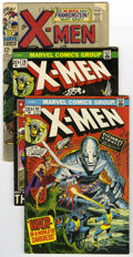 Modern Age (1980-Present):Superhero, X-Men Group (Marvel, 1967-89) Condition: Average FN. Includes #40(first Marvel appearance of Frankenstein's Monster), 79, 8...(Total: 16)