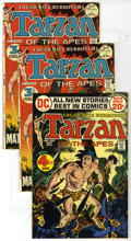 """Bronze Age (1970-1979):Miscellaneous, Tarzan Group (DC, 1972-75). Includes three copies each of issues#209 (last John Carter back-up feature), 210, 211, 213 (""""Be...(Total: 45)"""