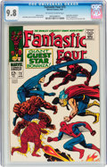 Silver Age (1956-1969):Superhero, Fantastic Four #73 (Marvel, 1968) CGC NM/MT 9.8 Off-white to white pages....