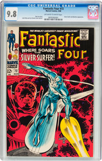 Fantastic Four #72 (Marvel, 1968) CGC NM/MT 9.8 Off-white to white pages