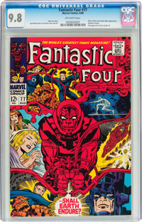Fantastic Four #77 (Marvel, 1968) CGC NM/MT 9.8 Off-white pages