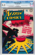 Golden Age (1938-1955):Superhero, Action Comics #101 (DC, 1946) CGC VF 8.0 Off-white pages....