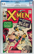 Silver Age (1956-1969):Superhero, X-Men #7 (Marvel, 1964) CGC NM 9.4 White pages....