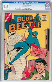 Blue Beetle V2#1 (Charlton, 1964) CGC NM+ 9.6 Off-white to white pages