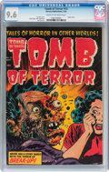 Golden Age (1938-1955):Horror, Tomb of Terror #15 (Harvey, 1954) CGC NM+ 9.6 Cream to off-whitepages....