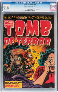 Tomb of Terror #15 (Harvey, 1954) CGC NM+ 9.6 Cream to off-white pages