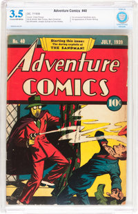 Adventure Comics #40 (DC, 1939) CBCS VG- 3.5 Cream to off-white pages