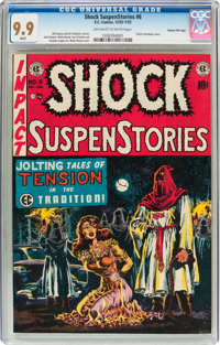 Shock SuspenStories #6 Gaines File pedigree 2/12 (EC, 1952) CGC MT 9.9 Off-white to white pages