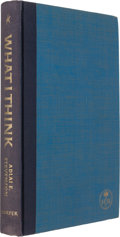 Books:Signed Editions, John F. Kennedy & Adlai Stevenson: An Inscribed PresentationCopy from JFK's Personal Library....