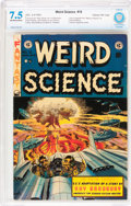 Golden Age (1938-1955):Science Fiction, Weird Science #18 Gaines File pedigree (EC, 1953) CBCS VF- 7.5Off-white to white pages....