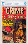 Golden Age (1938-1955):Crime, Crime SuspenStories #22 (EC, 1954) CBCS Restored VF 8.0 Slight (P) Off-white to white pages....